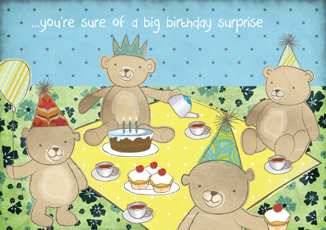 Teddy Bears Picnic Mookoo Design – Teddy Bears Picnic Party Invitations