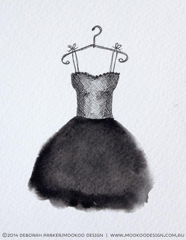 Week 14: Simplicity. Fineliner & watercolour