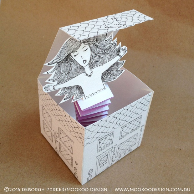 """Week 21: Boxes. 3D """"Jack in a box"""""""